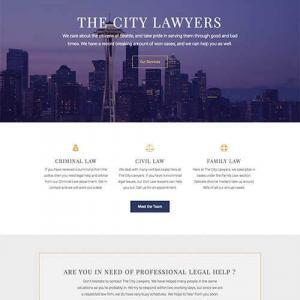 city lawyers template