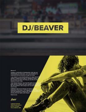 dj beaver template