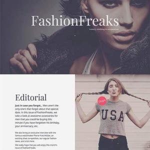 fashion freaks template