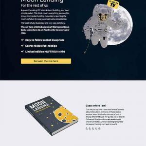 moon landing template