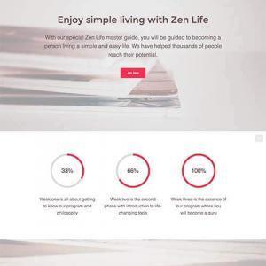 zen life template