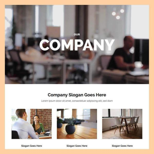 about company template
