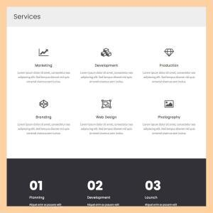 services 2 template