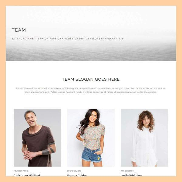 team page 2 template