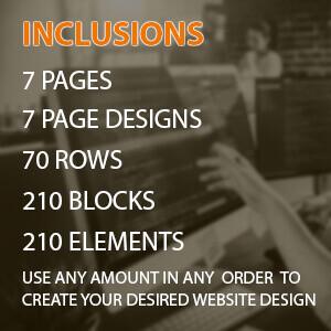 custom built categories premium 7 pages