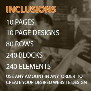 custom built categories standard 10 pages