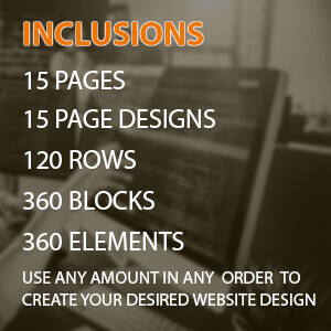 custom built categories standard 15 pages