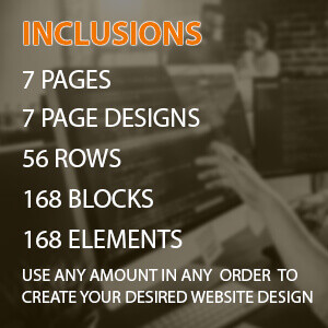 custom built categories standard 7 pages