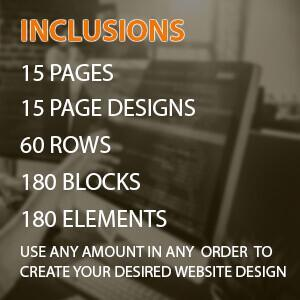 custom built categories special 15 pages