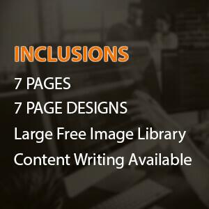 custom built categories standard 7 pages