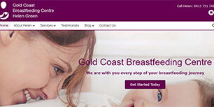 gold coast breastfeading centre desktop view